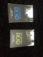 2 Books of The Walking Dead Harcover Graphic Novels