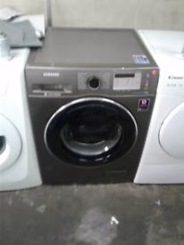SAMSUNG 7KG GRAPHITE ADD WASH WASHING MACHINE