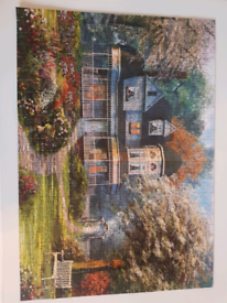 Puzzle 500 pieces, beautiful scenery