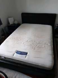 Free double bed frame and mattress