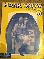 1949 Vintage Hank Snow Music Book
