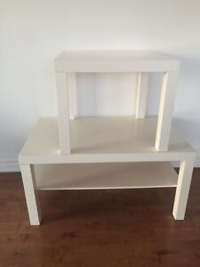 Set of 2 IKEA coffee tables