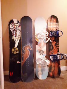 BOARDS + BOOTS + HELMETS! READY FOR SNOWBOARD SEASON????
