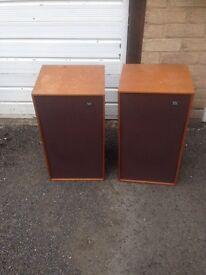 Vintage Wharfedale Glendale 3xp Speakers
