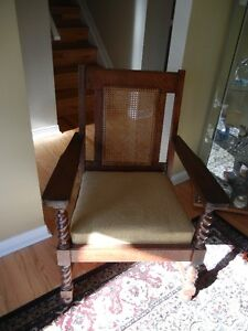 Antique Straight Back Chair for sale