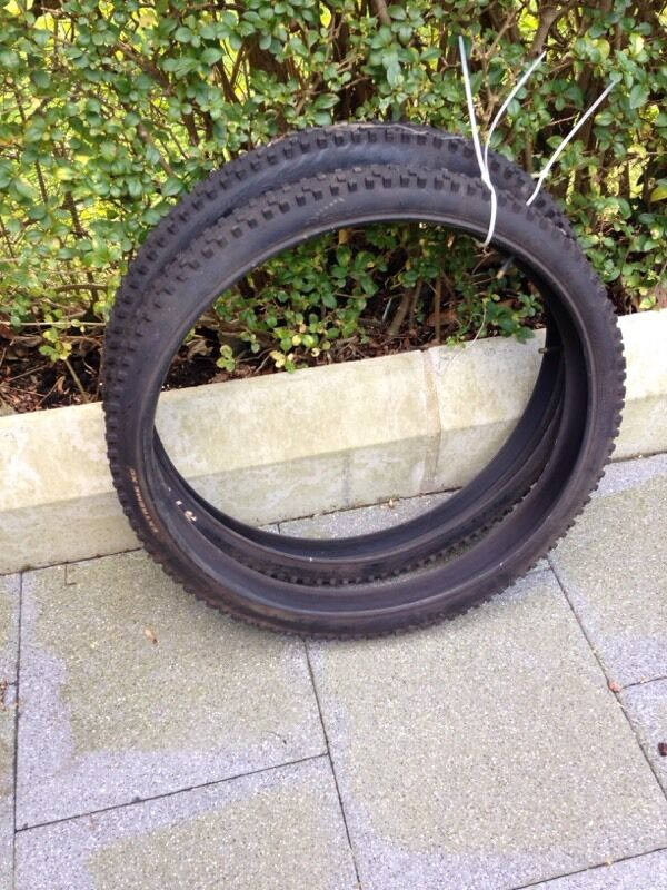 Mountain bike tyres and tubesin Castlereagh, BelfastGumtree - Tioga extreme xcNever used as put road tyres on at purchase time26x2.10Fits h/e rim