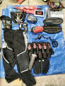 Invert mini & speed ball equipment (paintball)