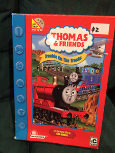Thomas & Friends Trouble on the Tracks Interactive CD Rom