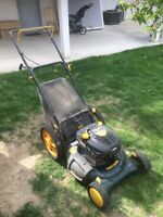 Craftsman 6.5HP Push Mower With Bag And Side Discharge
