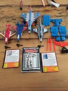 Vintage 1992 Transformers generation 2 aerialbots