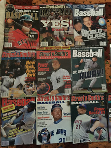 Street & Smith's BASEBALL Yearbooks  (1996-2007)