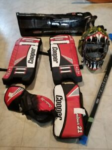 Assorted Floor Hockey Gear