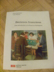 Decisions financieres - Pierre Desrosiers Yves Tanguay