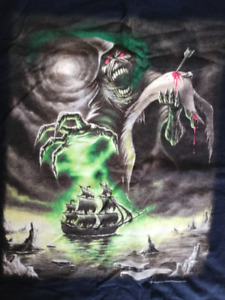 tshirt chandail IRON MAIDEN - RIME OF THE ANCIENT MARINER