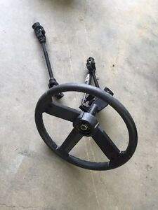 Polaris Ranger steering wheel, tilt and steering shafts