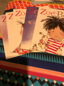 Childrens Zoe and Beans books
