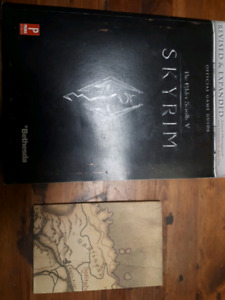 Skyrim book + Map