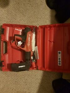 hilti powder actuated ramset like new condition $ 1100obo