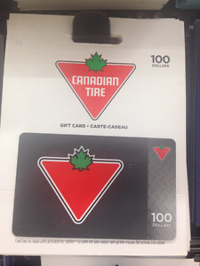 Want Canadian Tire cards