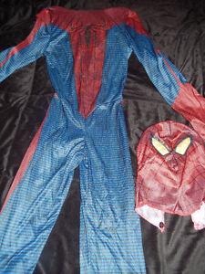 Costume Spiderman enfant grandeur 10/12