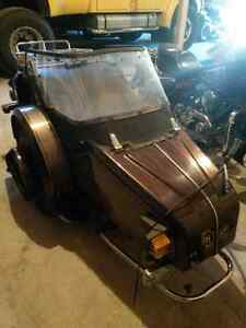 Honda goldwing Harley sidecar vintage