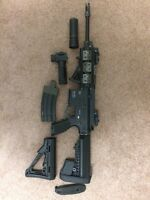 H&k 416c and a Well g96