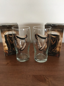 2 Guinness Halloween Glasses Collectible