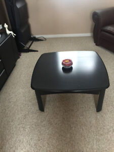 COFFEE TABLE & 2 END TABLES - BLACK