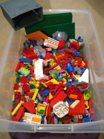 Big tub of lego