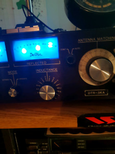 Dentron amp/tuner/meter. Hf amplifier/ham/amateur radio