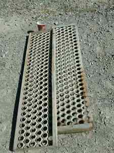Heavy duty steel grates