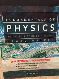 Fundamentals of Physics 9th Edition Windsor Region Ontario image 1