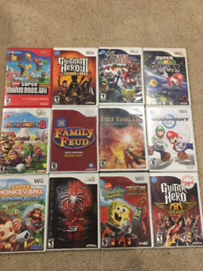 Wii Games - As low as $5!