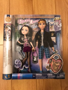 Ever After High Date Night Dexter Charming and Raven Queen