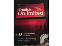 English Unlimited Upper Intermediate Coursebook [With DVD ROM]