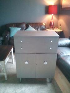 Vintage bar cabinet