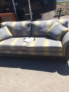 custom couch and chair (sell separate or together)