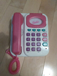 Vintage Barbie Talking Phone and Answering Machine
