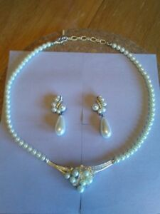 Necklace and Earing wedding set