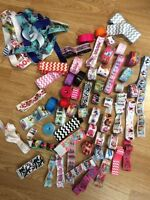Over 200 yards of grosgrain ribbon for crafts