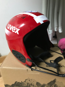 Race Ski Helmet Youth Medium