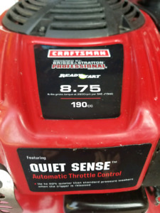 CRAFTSMAN 3000 PSI 2.7 GPM GAS PRESSURE WASHER - save +$400