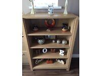Argos oak house of heart elford sideboard bookcase