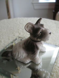ADORABLE LITTLE VINTAGE HAND-PAINTED PUPPY DOG