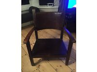 Small chair, possibly cobblers chair