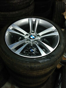 Brand New takeoffs 225 45 18 on 2016 BMW alloy rims 5 x 120