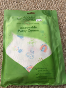 New in package Green Sprouts Disposable Potty Covers
