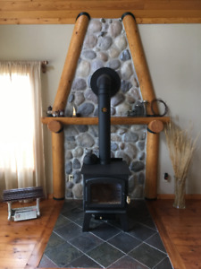 Wood Stove & Chimney For SALE!