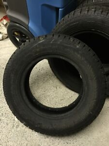 P175/70R13 studded Nordic .  brand new