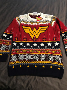 brand new wonder woman sweaters